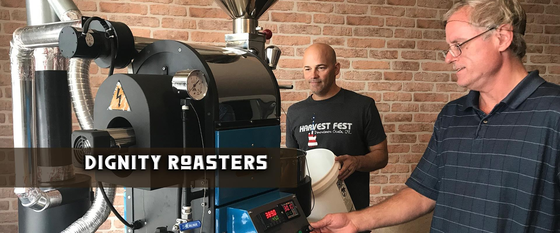 Dignity Roasters. Local coffee roasters. ocala, florida. Ethically sourced